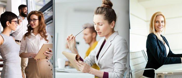 Ofis Şıklığı Kadın