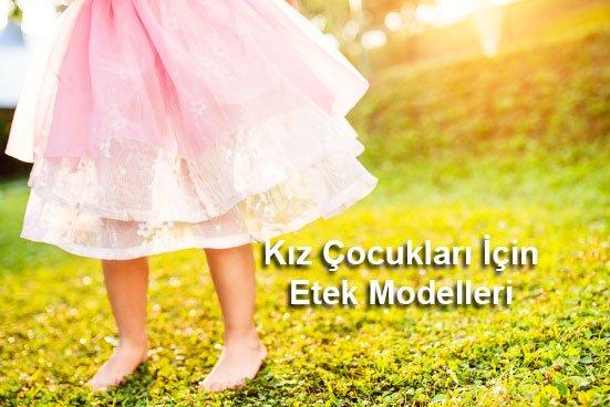 Kız Çocukları İçin Etek Modelleri